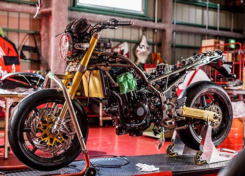 Custom by MOTO CORSE | Kawasaki Z900RS Custom Project: Beyond Z