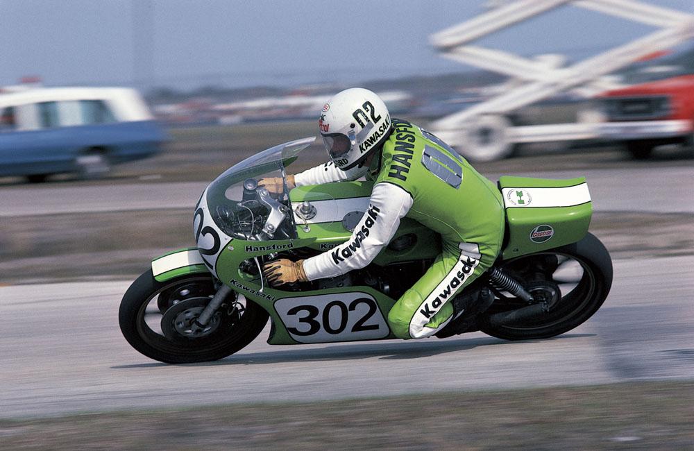 Mick Grant Kawasaki Kr